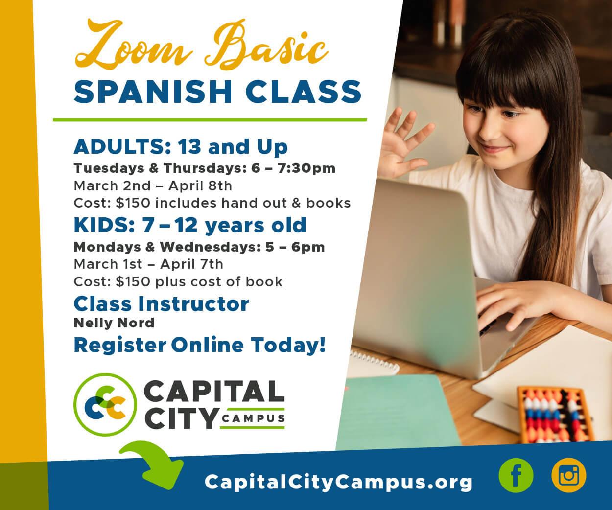 Spanish Classes 300 x 250